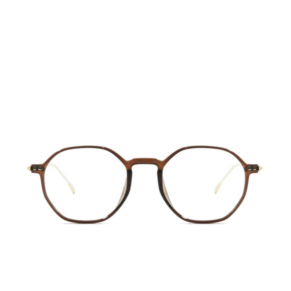 Round Vintage PF005 Brown Gold (1)