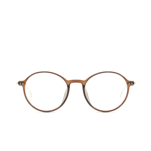 Round Vintage PF006 Brown (1)